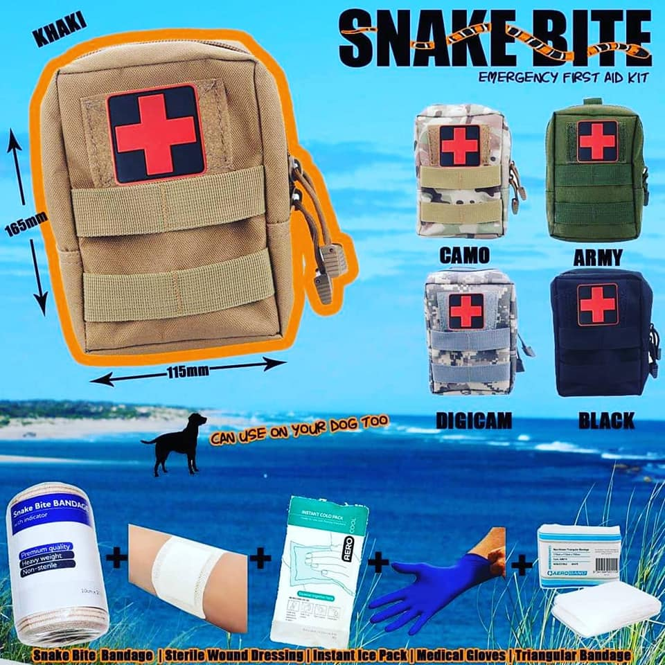 Snake & Venomous First Aid Kit